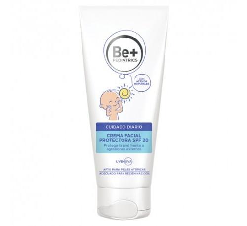 Be+ pediatrics crema facial protectora spf 20 (40 ml)