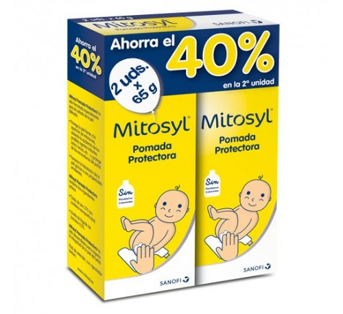 Mitosyl pomada protectora (65 g 2 tubos)