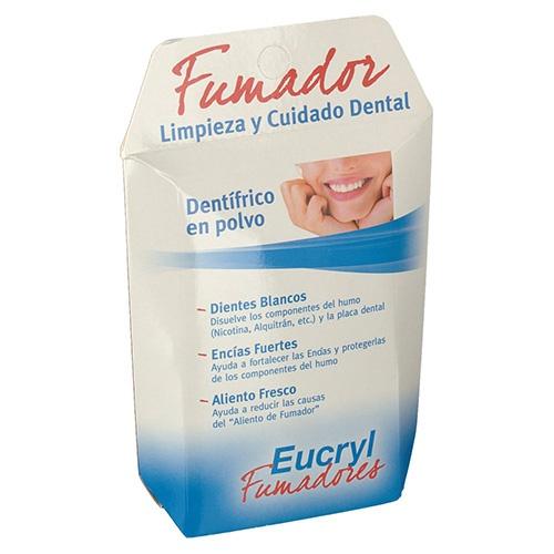 Eucryl fumadores cuidado integral polvo dental (50 g)