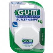 Gum-1855 dental - seda con cera (mentolada 54.8 m)