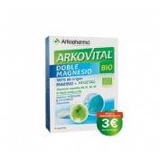 Arkovital doble magnesio bio (30 comprimidos)
