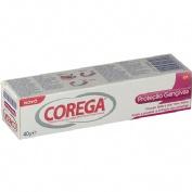 Corega fijador proteccion de encias - adhesivo protesis dental (40 g)