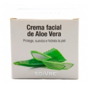 Soivre crema facial de aloe vera (200 ml)
