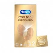 Durex real feel - preservativo sin latex (12 u)