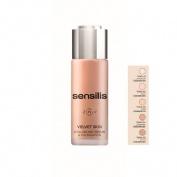 Sensilis velvet skin ha serum&foundation (05 sand 30 g)