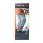 Rodillera elastica gel pad y flejes - orliman sport os6211 (t -3)