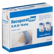 Recuperat-ion suero oral s.r.o. baby (250 ml 2 bricks leche)
