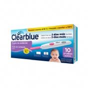 Clearblue prueba de ovulacion digital (10 tiras)