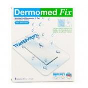 Dermomed fix segunda piel - aposito esteril (10 cm x 7.5 cm 4 u)