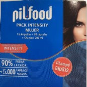 Pilfood intensity mujer (pack)