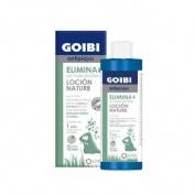 Goibi antipiojos locion nature - elimina sin insecticida (200 ml)