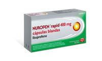 NUROFEN RAPID 400 mg CAPSULAS BLANDAS , 10 cápsulas