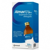 ALMAX 1g/7,5 ml SUSPENSION ORAL , 1 frasco de 225 ml