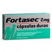FORTASEC 2 mg CAPSULAS DURAS 20 cápsulas